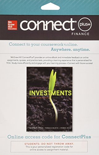 9780077641757: Connect 1-Semester Access Card for Fundamentals of Investments