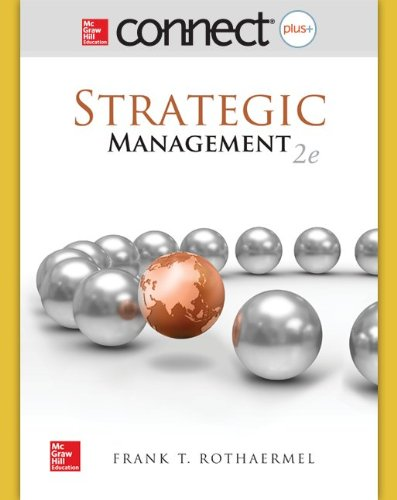 9780077645113: Connect 1-Semester Access Card for Strategic Management