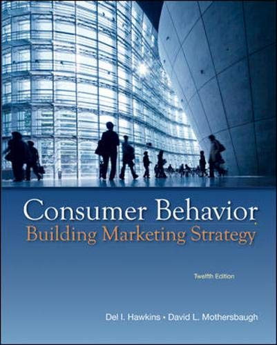 9780077645557: Consumer Behavior: Building Marketing Strategy, 12th Edition