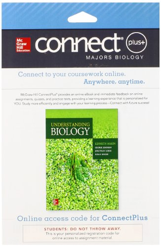 9780077645953: Connect Access Card for Understanding Biology