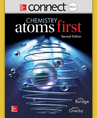 Connect 2-Year Access Card for Chemistry: Atoms: Burdge, Julia; Overby