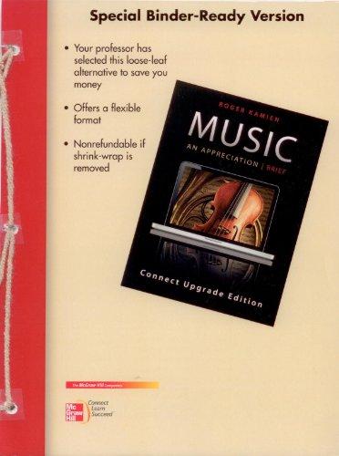 Music an Appreciation (Brief): Kamien, Roger