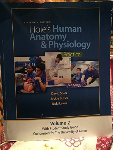 9780077647551: Hole's Human Anatomy and Physiology (CUSTOMIZED FOR THE UNIVERSITY OF AKRON)