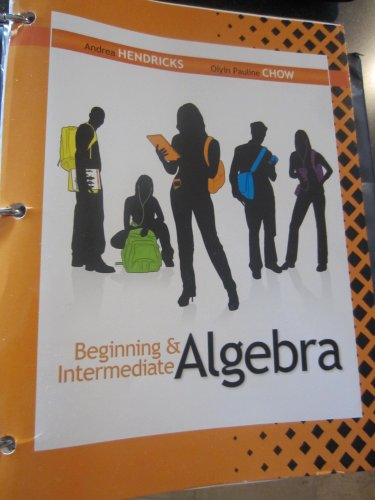 9780077648442: Beginning & Intermediate Algebra