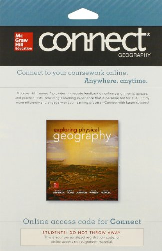 9780077648718: Connect Geography with LearnSmart 1 Semester Access Card for Exploring Physical Geography