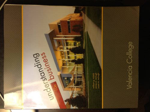 9780077648855: Understanding Business: Valencia College, 10th Edition