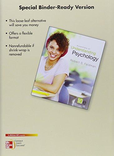 9780077649258: Looseleaf for Essentials of Understanding Psychology