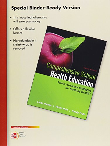 9780077649777: Looseleaf for Comprehensive School Health Education
