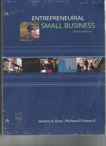 9780077651596: Entrepreneurial Small Business, 3rd Edition