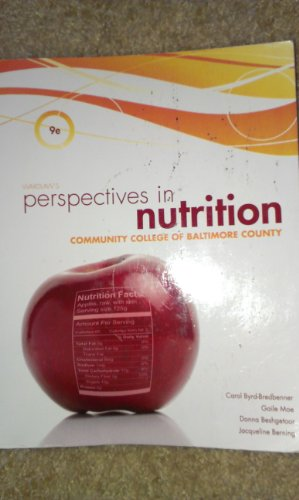 9780077652302: Wardlaw's Perspectives in Nutrition (Community College of Baltimore County)