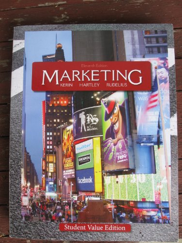 9780077653712: Marketing: Student Value Edition