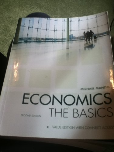 9780077653767: Economics The Basics- second edition