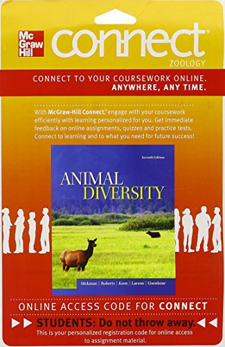 9780077655105: Connect Zoology 1 semester Access Card for Animal Diversity
