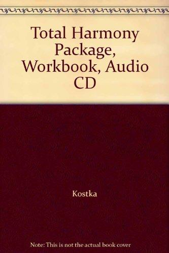9780077655488: Total Harmony Package, Workbook, Audio CD