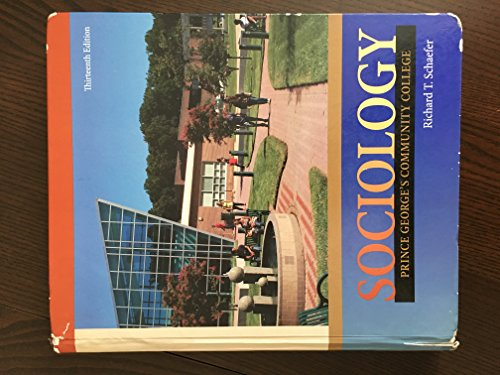 9780077655549: sociology prince georges community college
