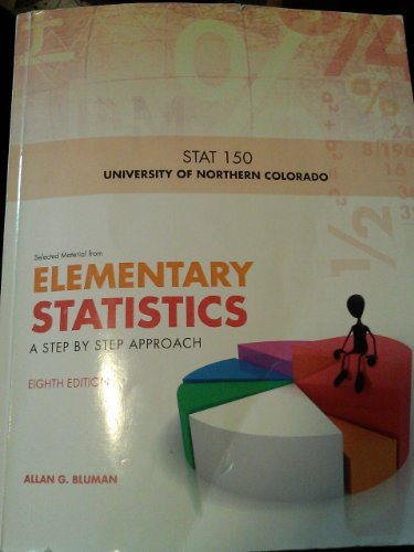 9780077656188: Elementary Statistics: A Step By Step Approach (8th Edition) UNC Stat 150
