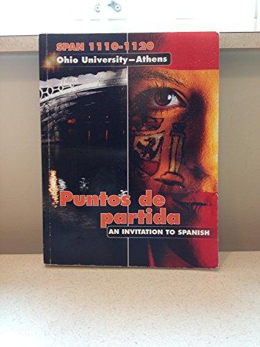 9780077656546: Puntos de Partida: An Invitation to Spanish, Spanish 1110 and 1120 Special Edition for Ohio University