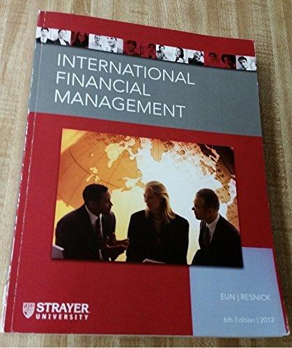 9780077657758: International Financial Management Strayer Custom Edition