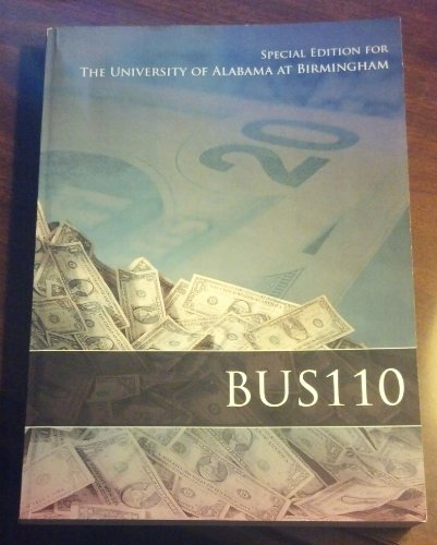 9780077657925: BUS 110 Special Edition for the University of Alabama at Birmingham
