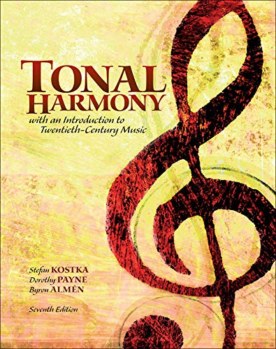 9780077658236: PKG Tonal Harmony with Workbook