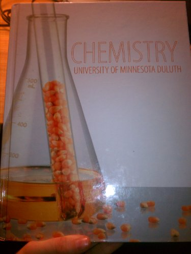 9780077660390: Chemistry University of Minnesota Duluth (Chemisty University of Minnesota)