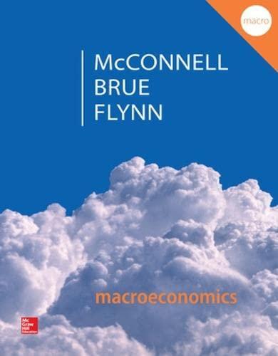 9780077660772: Macroeconomics: Principles, Problems, & Policies (Irwin Economics)