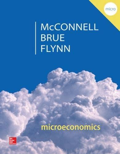 9780077660819: Microeconomics: Principles, Problems, & Policies (McGraw-Hill Series in Economics)