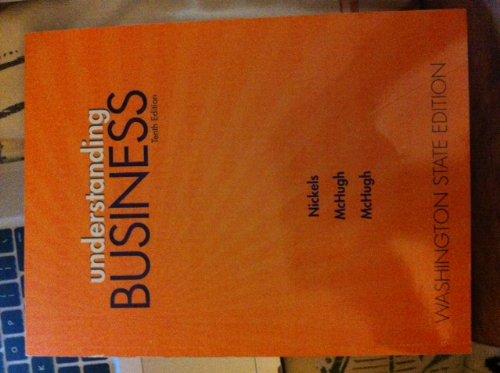 9780077663353: Understanding Business: Washington State Edition