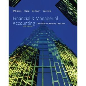 9780077664077: Financial & Managerial Accounting : The Basis for Business Decisions