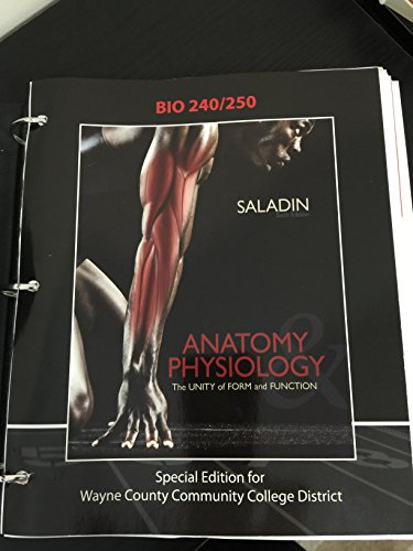 ANATOMY & PHYSIOLOGY: THE UNITY OF FORM AND FUNCTION [Loose Leaf ...