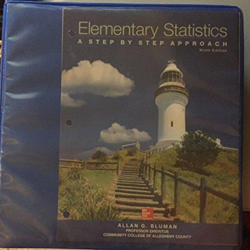 9780077665708: Elementary Statistics (Looseleaf)