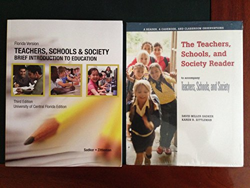 Teachers,schools and society 3rd edition (Brief introduction to education) (0077667123) by David Miller; Karen R. Zittleman