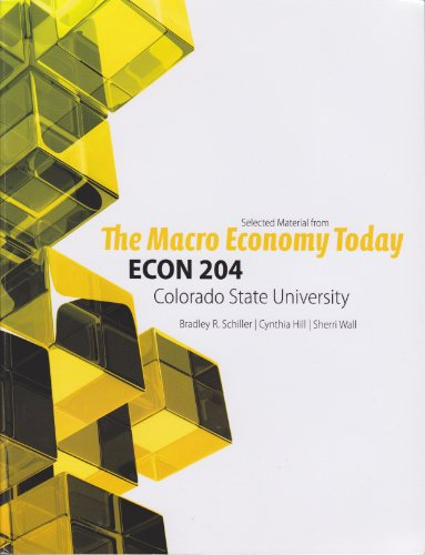 9780077667306: The Macro Economy Today (Selected Material From ECON 204 at Colorado State University)