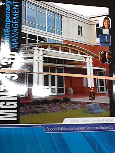 9780077669041: MGNT 3130 Corporate Management Special Edition for Georgia Southern University