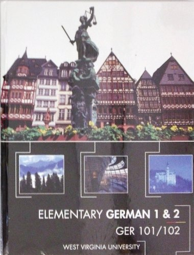 9780077672348: Elementary German 1 & 2 (GER 101/102)