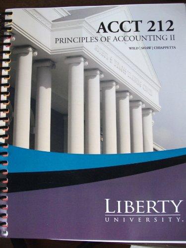 9780077675479: Fundamental Accounting Principles (Principles of Accounting 2 - Acct 212) (2nd half of Fundamental Accounting Principles, Chapters 13-25.)