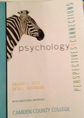 9780077675608: Psychology Perspectives and Connections