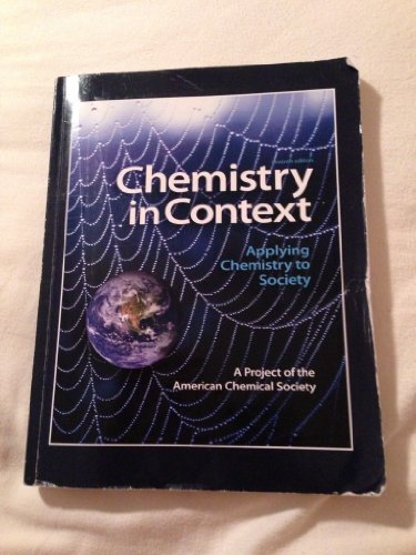 9780077676100: Chemistry in Context (Chemistry in Context: Applying Chemistry to Society Seventh Edition)