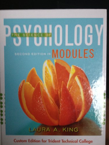 9780077677213: The Science of Psychology (second edition in modules)