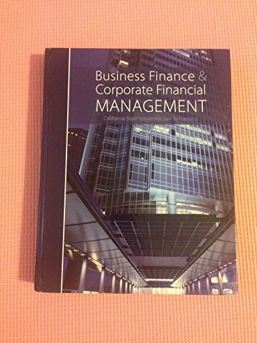 9780077678814: Business Finance & Corporate Financial Management (California State University, San Bernardino)