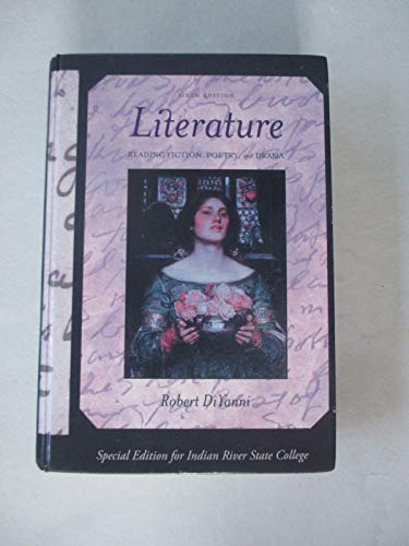 9780077680121: Literature Reading Fiction, Poerty, and Drama. Special Edition for Indian River State College