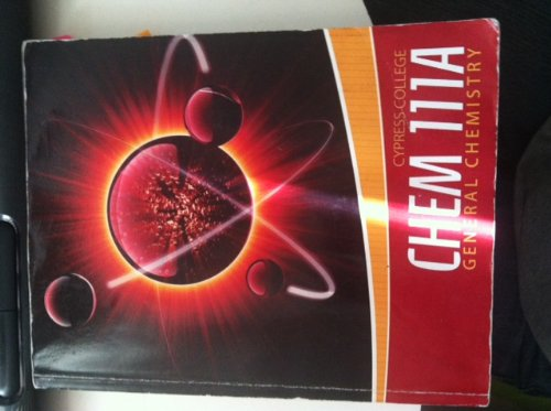 9780077680244: Cypress College Chem 111A General Chemistry