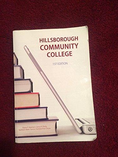 Hillsborough Community College: The McGraw-Hill Handbook (Patterns: Maimon, Peritz, Yancey,