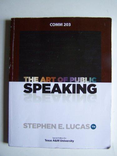 9780077680862: The Art Public Speaking