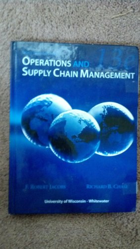 9780077681050: Operations and Supply Chain Management