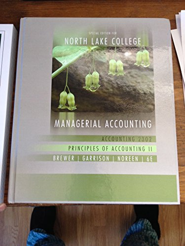 9780077681258: Managerial Accounting