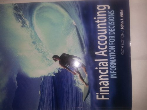 9780077681401: Financial Accounting: Information for Decisions