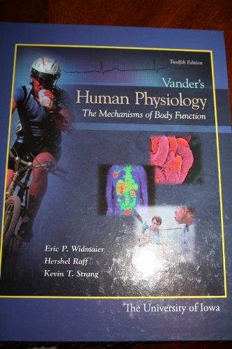 9780077682088: Vander's Human Physiology: The Mechanisms of Body Function - 12th Edition, the University of Iowa