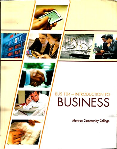 9780077682224: Introduction to Business (BUS-104 Introduction to Business)