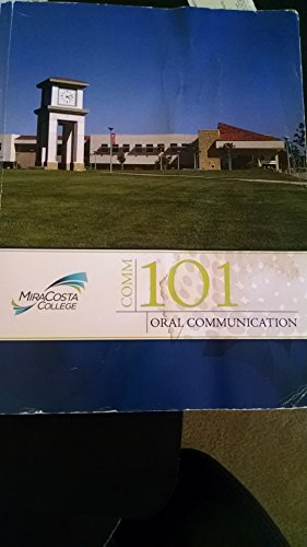 Comm 101 Oral Communication from The Art of Public Speaking for Mira Costa College with Online ...